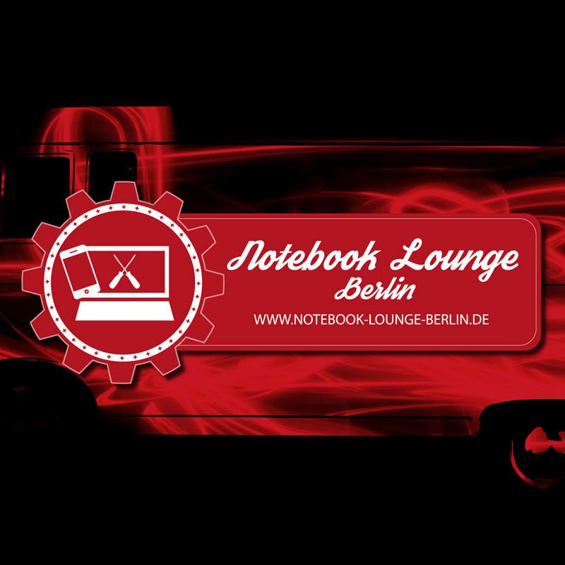 rotes Portfoliobild Notebook Lounge