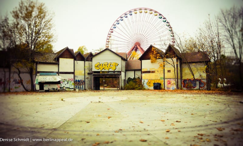 Ein Herbsttag im vergessenen Spreepark