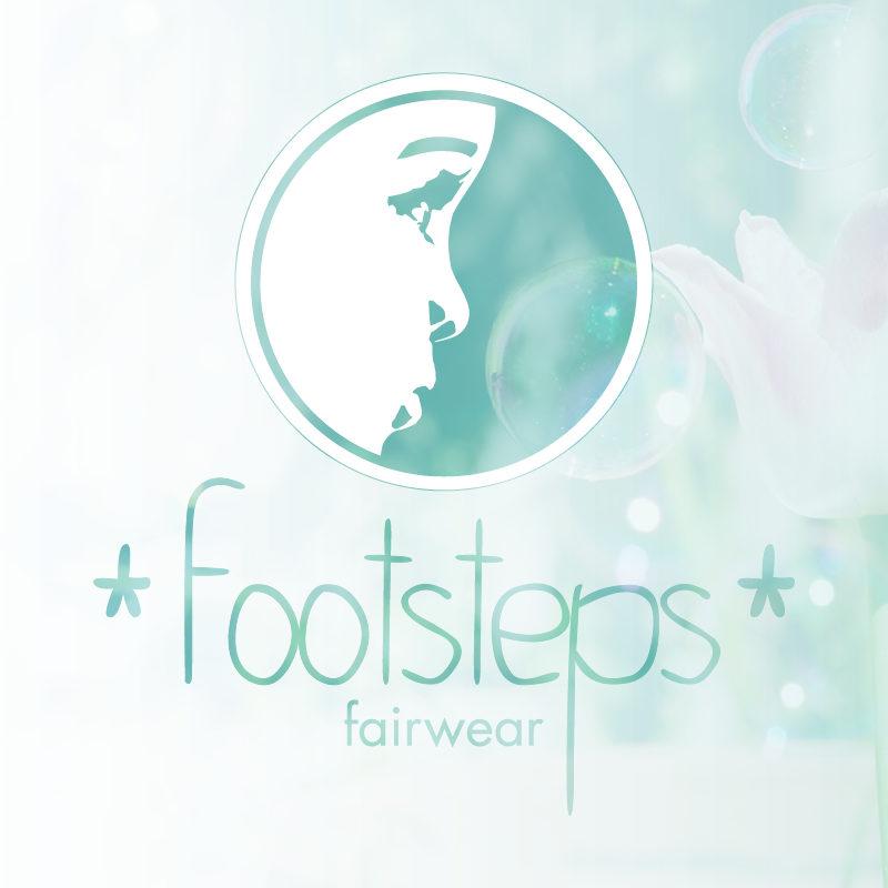 Logodesign Footsteps Fairwear - Portfoliobild